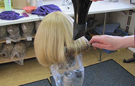 Wig Cleaning and Re-Dressing
